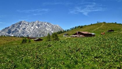 Der Taubensee im Bergsteigerdorf Ramsau