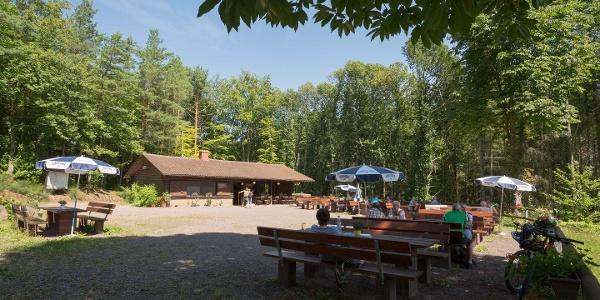 Einkehrmöglichkeit PWV Wasgauhütte Schwanheim