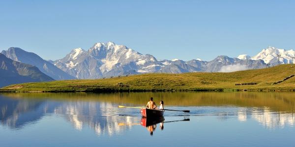 Grosse Drei-Seen-Wanderung: Bettmersee, Blausee, Märjelensee