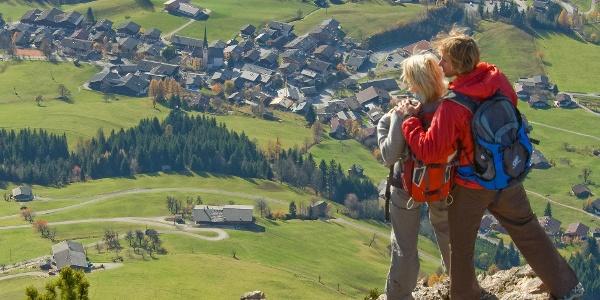 Blick nach Alpbach
