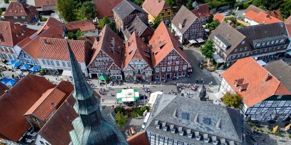 Luftansicht Historischer Stadtkern