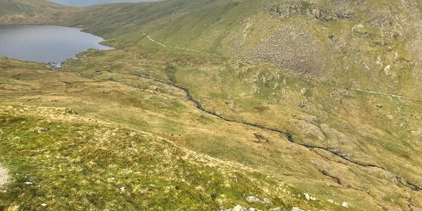 Grisedale Tarn and Beck