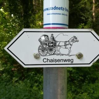 Wegzeichen Chaisenweg