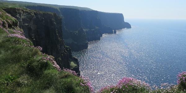 Irland Cliffs Of Moher Karte.Wanderung Von Liscannor Nach Doolin Wanderung