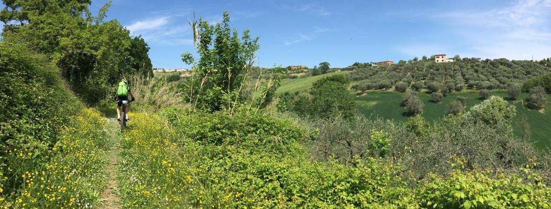 Trail bei Montescudo