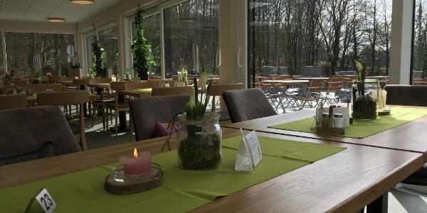 Wintergarten im Hotel Grünwalde, Halle Westfalen