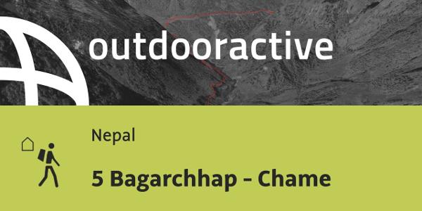 Fernwanderweg in Nepal: 5 Bagarchhap - Chame