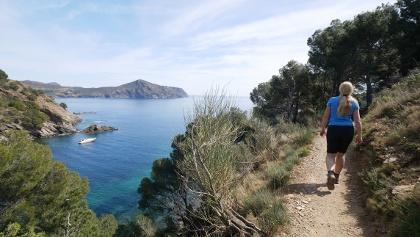Der Panoramaweg entlang der Küste im Naturpark Cap de Creus