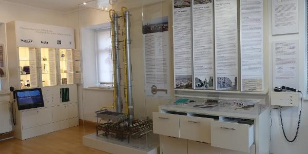 Austellung des Chemiewerkes Wacker