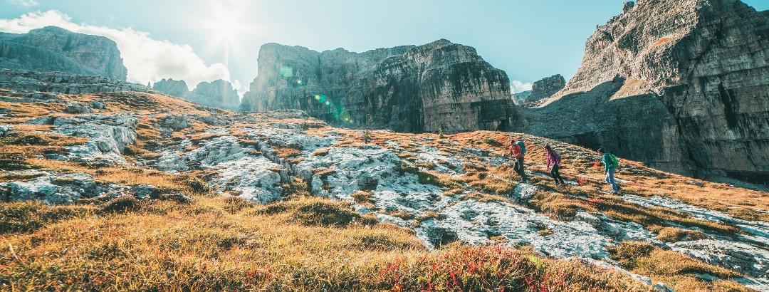 Wanderer Campiglio