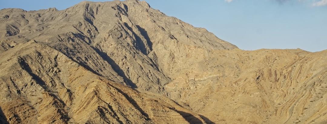Gebirge in der Region Musandam