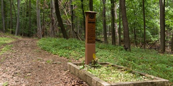 Bagi Jóska galyatetői erdész sírja a Mátrában