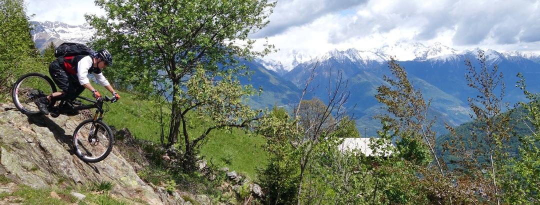 Trail bei Larice