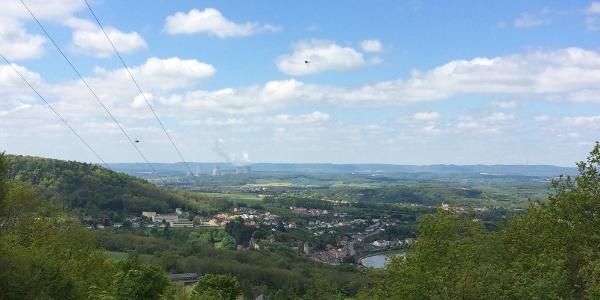 Sierck-les-Bains mit Mosel