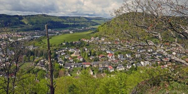 Blick auf Ebingen
