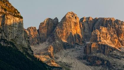Die mächtigen Gipfel der Brentadolomiten