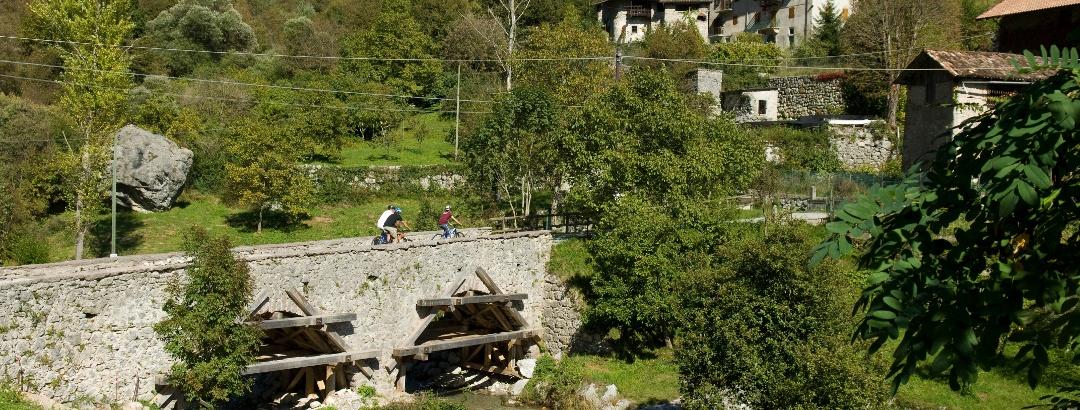 Mountainbike-Tour durch Terme di Comano-Dolomiti di Brenta
