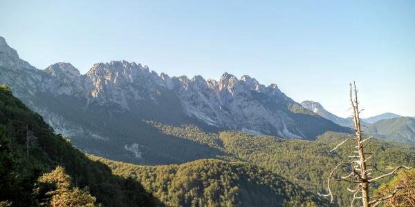 Creta de Mezzodi, nördlich des Mt. Sernio