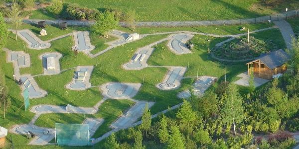 Minigolfanlage im Kurpark Bad Schlema