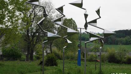 Skulptuen im Garten
