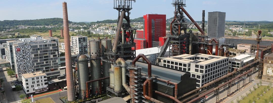 Stahlwerk in Belval