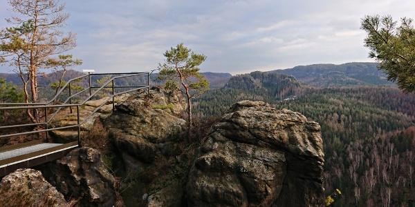 Aussicht vom Großstein