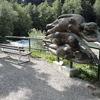 Illerusprung zwischen Oberstdorf und Fischen i. Allgäu