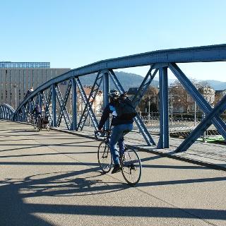 Wiwili Brücke in Freiburg