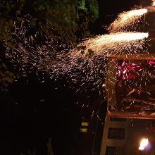 Fire performance at Herkuleshof