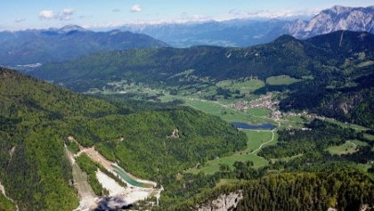 Planica valley, towards Koren pass