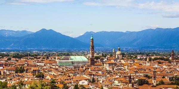 Vicenza, city of architect Palladio