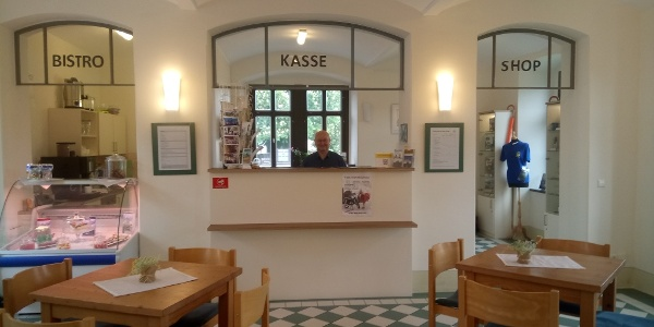Museumskasse/Touristinformation Schloss Wildeck, Zschopau