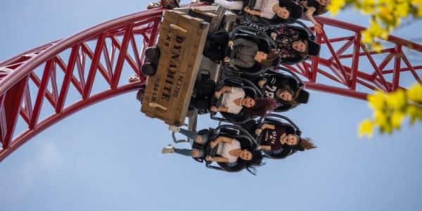 "Big Dipper Coaster ""Dynamite"" im Freizeitpark Plohn"