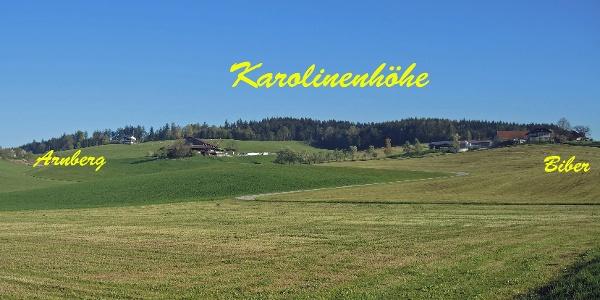 Die Ortschaft Arnberg