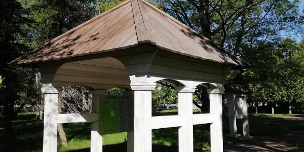 Site 2. Imatrankoski churchyard