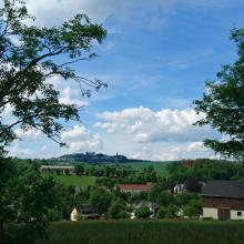 Ausblick auf die Augustusburg