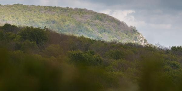 A Tar-kő az Őr-kőről nézve