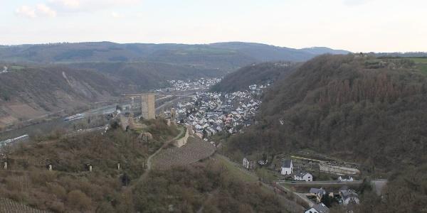 Blick auf die Niederburg in Kobern-Gondorf