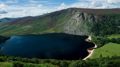 """Lough Tay (""""The Guiness Loch"""")"""