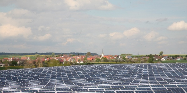 Solarpark Hirtenhaus Energielehrpfad