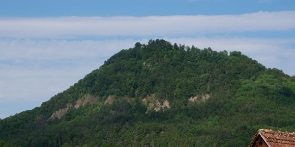 Blick von Neuhausen zum Hohenhewen