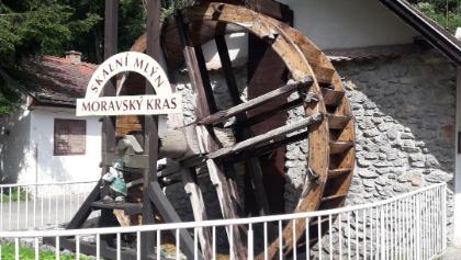 Skalní mlýn na moravských kras