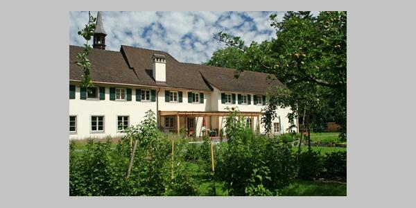 Klostergarten des Kapuzinerkloster Feldkirch