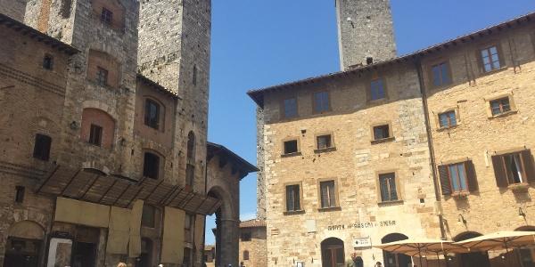 San Gimignano's towers