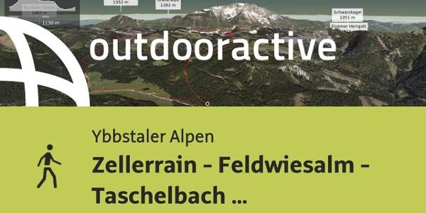 Wanderung in den Ybbstaler Alpen: Zellerrain - Feldwiesalm - Taschelbach -Zellerrain