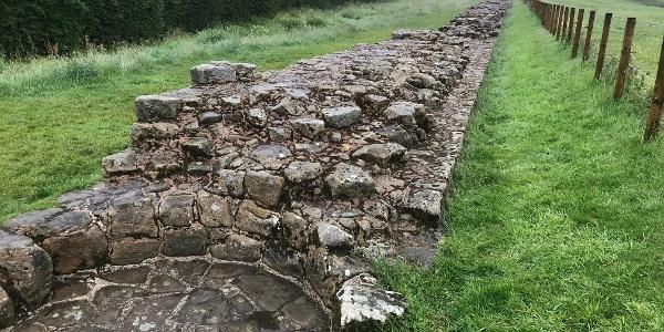 'Broad' Wall at Heddon