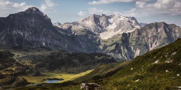 Die Braunarlspitze, höchster Berg im Bregenzerwald