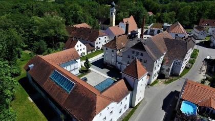 Schlossökonomie Gern Luftbild