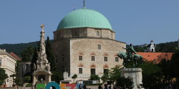Gázi Kászim pasa dzsámija az egyik legjelentősebb török kori építészeti emlékünk