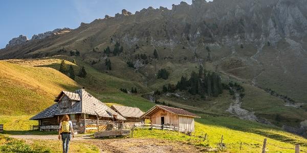 Das Alpbeizli auf der Alp Imbrig lädt zum Verweilen ein